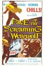 Watch Face of the Screaming Werewolf