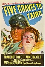 Watch Five Graves to Cairo