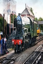 Watch Flying Scotsman from the Footplate