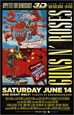 Watch Guns N' Roses Appetite for Democracy 3D Live at Hard Rock Las Vegas