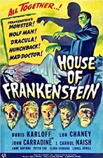 Watch House of Frankenstein