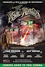 Watch Jeff Wayne's Musical Version of the War of the Worlds Alive on Stage! The New Generation